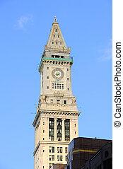 Clock tower closeup