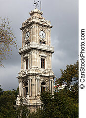 Clock Tower Dolmabahce Palace