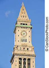 Clock tower in Boston