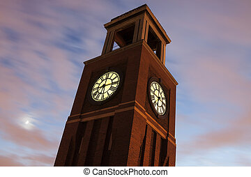 Clock Tower in Chicago