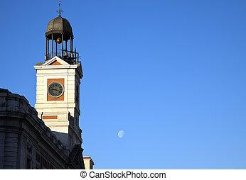 Clock Tower in Madrid