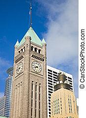 Clock Tower in Minneapolis