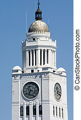 clock tower in Philadelphia
