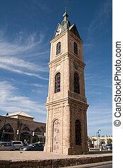 Clock tower in Tel Aviv, Israel - Clock tower in Jaffa, Tel ...