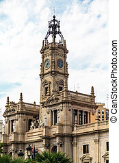 Clock Tower in Valencia