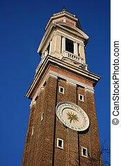 Clock tower in Venice