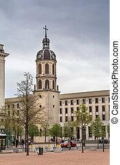 Clock tower, Lyon, France