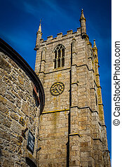 St Ia's Church in St. Ives