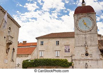 Clock tower - Trogir, Croatia.