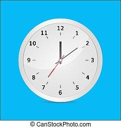clock vector 3d