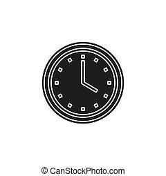 clock vector icon, time