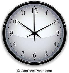 Clock vector illustration.