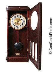 clock vintage midnight isolated