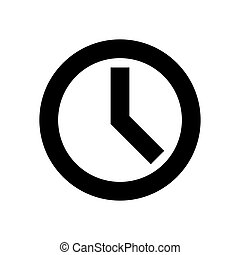 Clock Web Icon - msidiqf