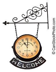 clock.11, accueil