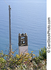 clockbell in fossola Cinque Terre National park. Locality:...