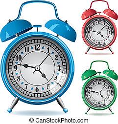clocks, τρομάζω , θέτω , retro , γραφικός
