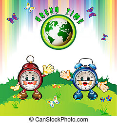clocks, cartone animato