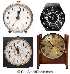 clocks, set