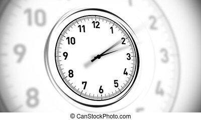 Clocks White