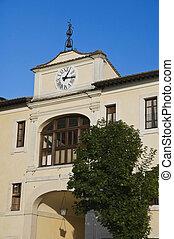 Clocktower. Assisi. Umbria.