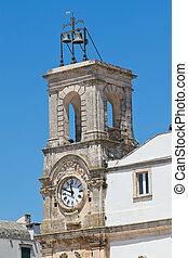 Clocktower. Martina Franca. Puglia. Italy.