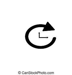 clockwise arrow rotation icon