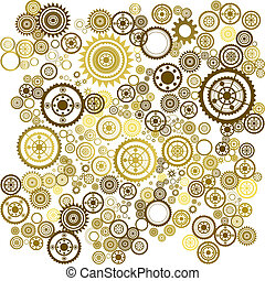 clockwork background - abstract clockwork background