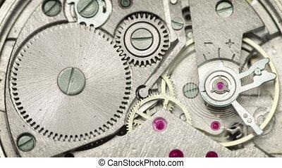 Video UltraHD - clockwork close up
