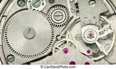 Clockwork close up