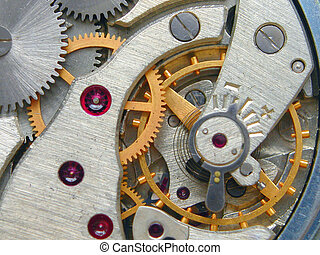 Clockwork - Inside of my old pocket-watch :)