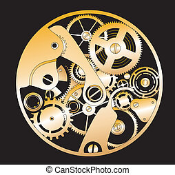 clockwork, silueta