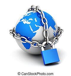 Close globe