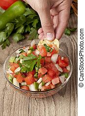 fresh salsa dip