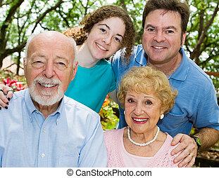 Close Knit Family