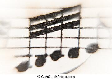 sheet of music
