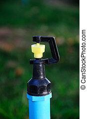 Close up a sprinklers