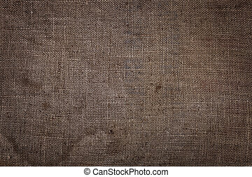 close-up., abstraction., matériel, burlap, texture