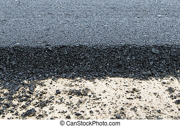 Close-up asphalt