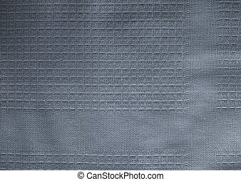 Close Up Background of Blue Textile Texture