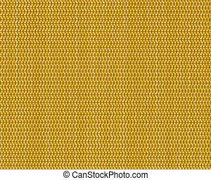 criss cross fabric texture detail