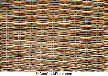 Close up bamboo basketry pattern background