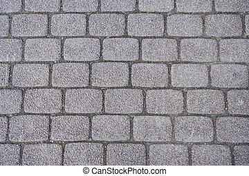 close up brick concrete texture