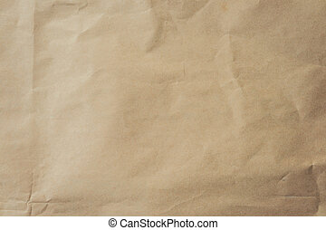 Close up brown paper background and texture.