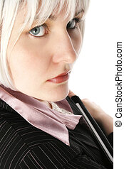 Close Up Business Woman