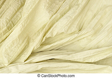 close up citron color cotton texture background