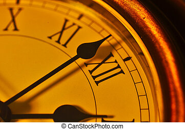 Close up clock