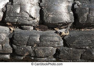 Close up coal