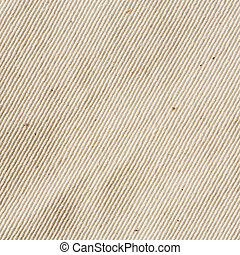 unbleached muslin cloth texture - Close up cream color...