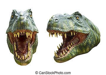 close up dinosaur